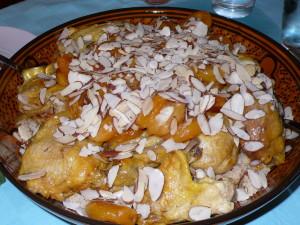 Spiced almond chicken
